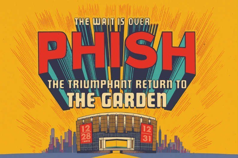 image for article Phish Announces 2017-2018 New Years Residency at Madison Square Garden: Ticket Presale & On-Sale Info
