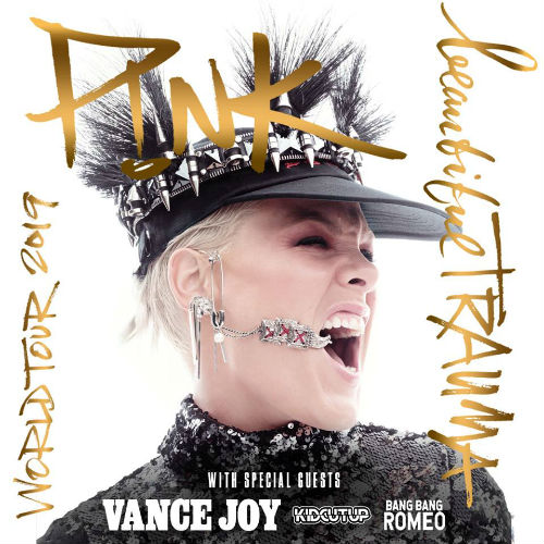 image for event P!nk, Vance Joy, Kid Cut Up, and Bang Bang Romeo