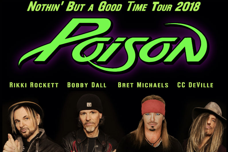 image for event Poison, Cheap Trick, and Pop Evil