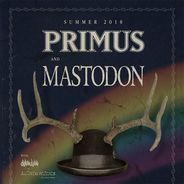 image for event Primus, Mastodon, and All Them Witches