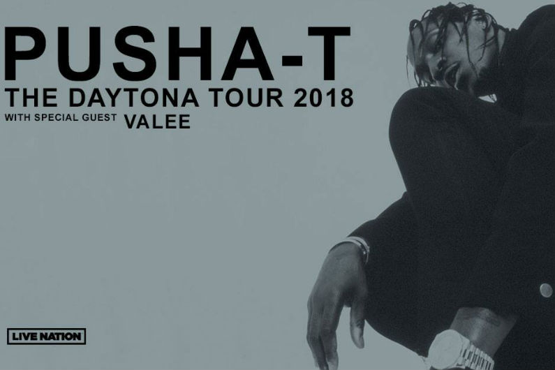 image for article Pusha T Sets 2018 Tour Dates: Ticket Presale Code & On-Sale Info