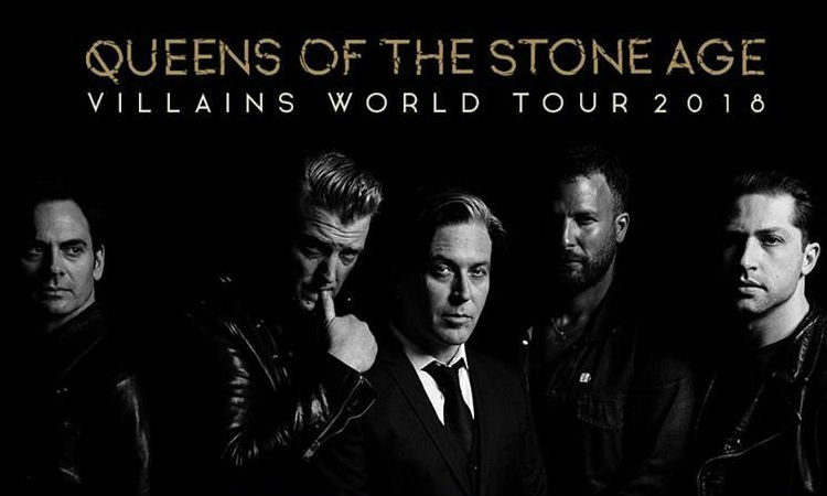 image for article Queens of the Stone Age Add 2018 'Villains World Tour' Dates: Ticket Presale Code & On-Sale Info