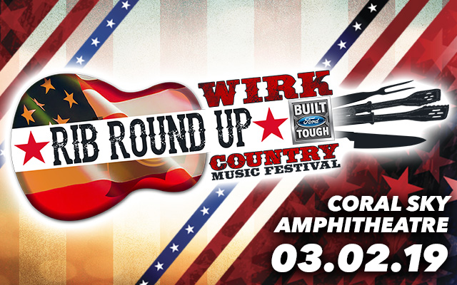 image for event WIRK Rib Round Up & Country Music Festival: Kip Moore, Chase Rice, and more