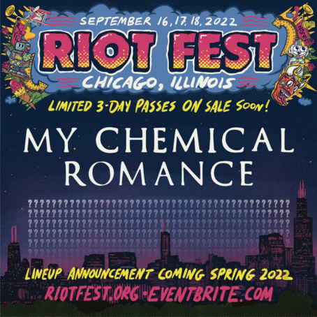 image for event My Chemical Romance