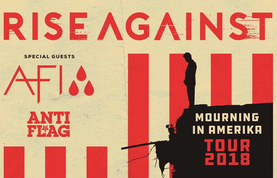image for article Rise Against, AFI, and Anti-Flag Reveal 2018 Tour Dates: Ticket Presale Code & On-Sale Info