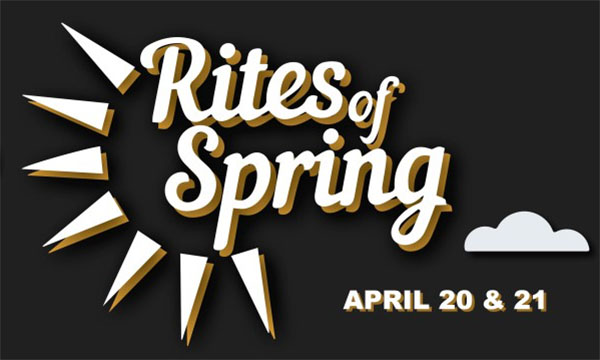 image for event Rites of Spring 2018