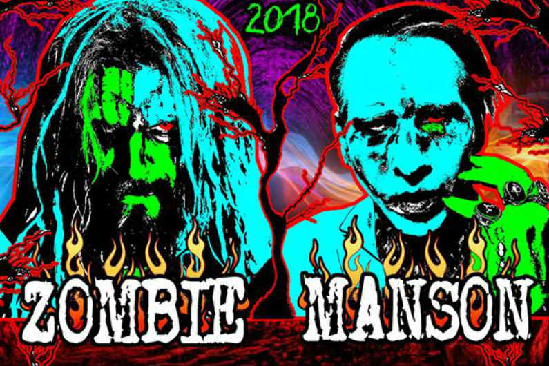 Marilyn Manson, Rob Zombie 'Twins of Evil' tour coming to Darien Lake