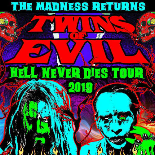 image for article Rob Zombie and Marilyn Manson Plot 2019 Tour Dates: Ticket Presale Code & On-Sale Info