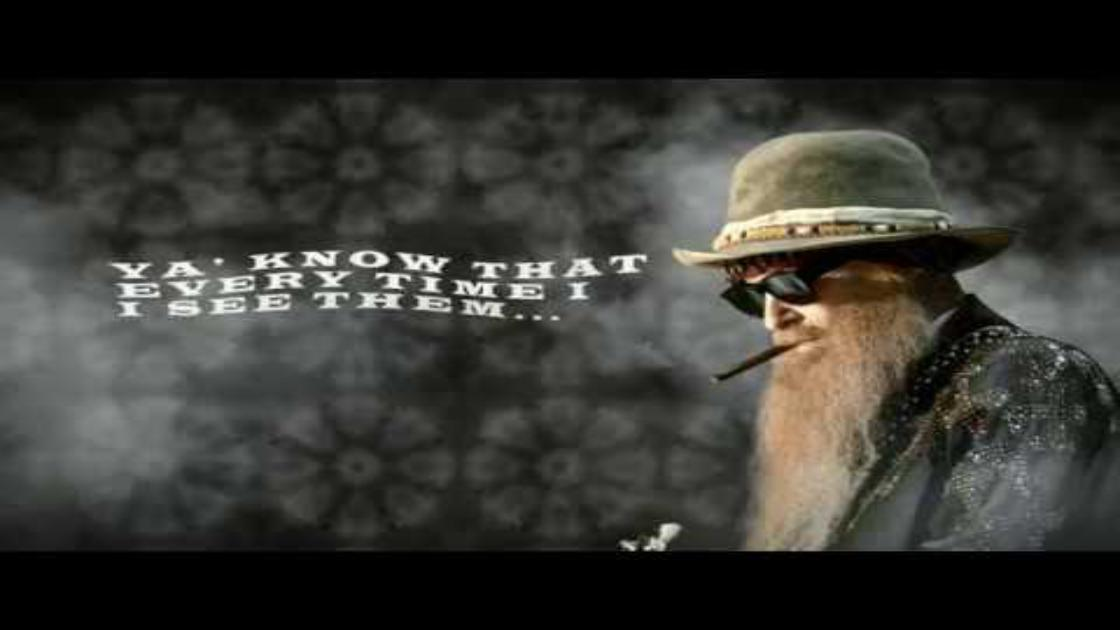 "image for article ""Rollin' and Tumblin'"" - Billy F Gibbons  [YouTube Audio Single]"