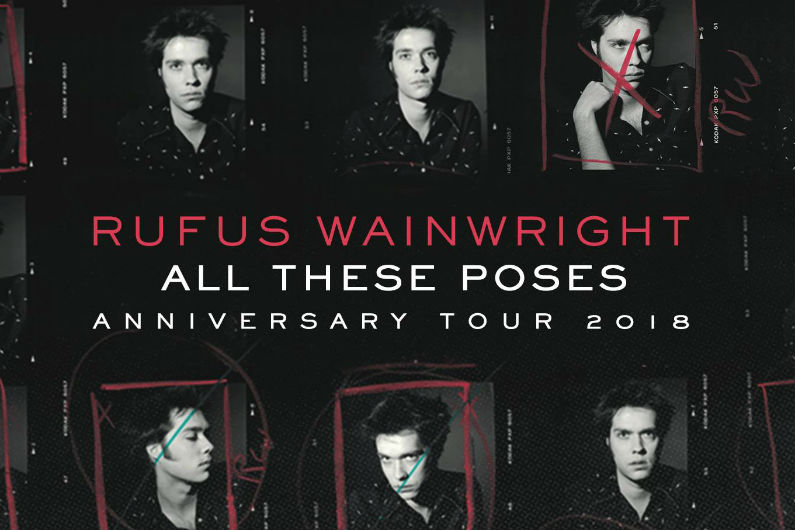 image for article Rufus Wainwright Sets 2018 Tour Dates: Ticket Presale Code & On-Sale Info
