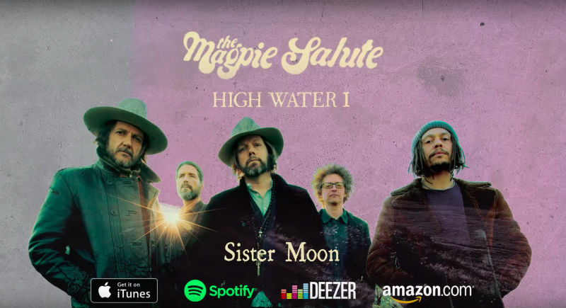 "image for article ""Sister Moon"" - The Magpie Salute [YouTube Audio Single]"