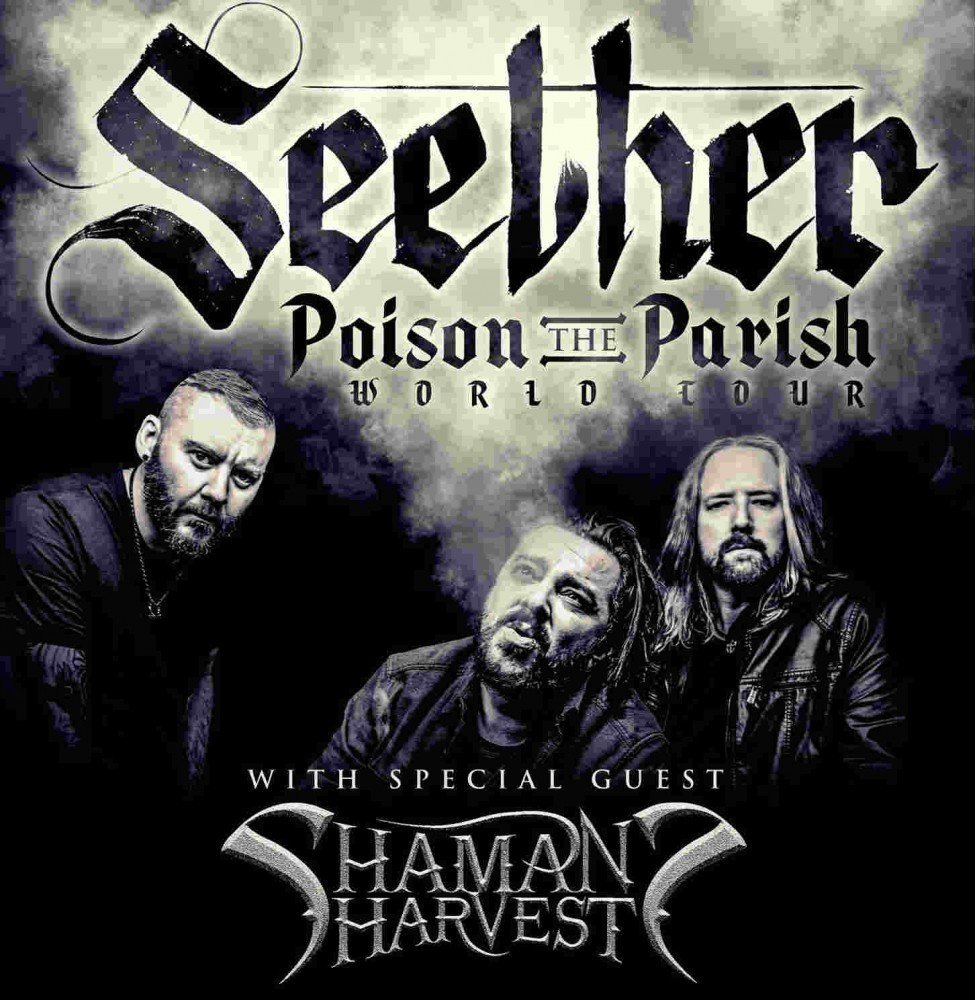 image for article Seether Adds Fall 2017 'Poison The Parish' Tour Dates For North America: Ticket Presale Code & On-Sale Info
