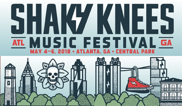 image for event Shaky Knees Festival 2018