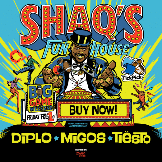 image for event Diplo, Migos, Tiesto, and T-Pain