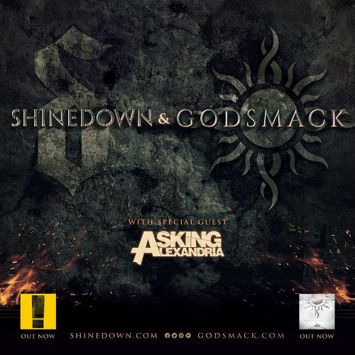 image for article Shinedown, Godsmack, and Asking Alexandria Add 2018 Tour Dates: Ticket Presale Code & On-Sale Info