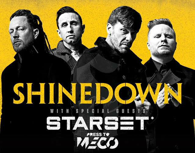 image for article Shinedown Plots 2018 Tour Dates: Presale Code & On-Sale Info