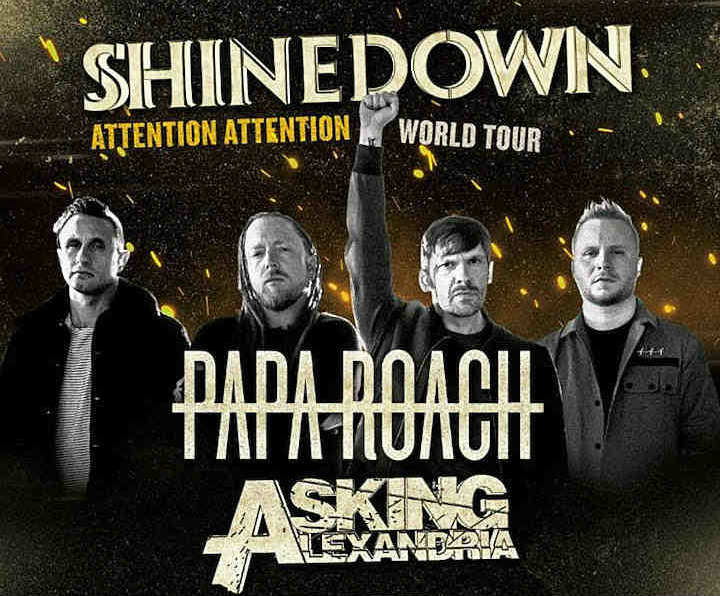 image for article Shinedown Sets 2019 Tour Dates: Ticket Presale Code & On-Sale Info