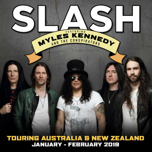 image for event Slash featuring Myles Kennedy & The Conspirators