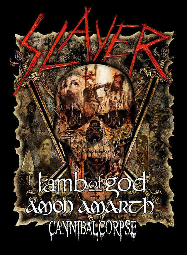 image for event Slayer, Lamb of God, Amon Amarth, and Cannibal Corpse