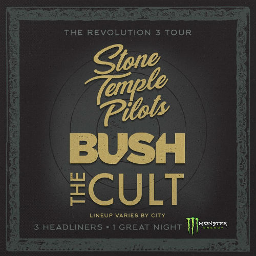 image for event Stone Temple Pilots, Bush, and The Cult