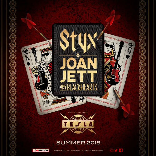 image for event Styx, Joan Jett and the Blackhearts, and Tesla