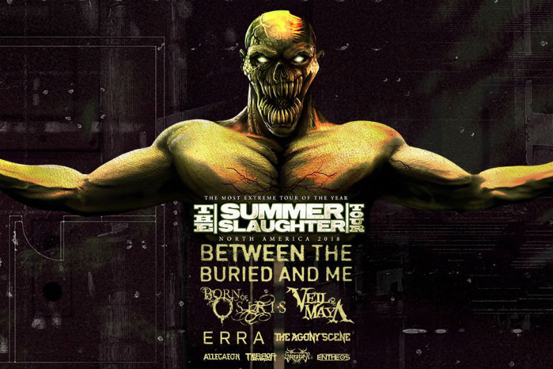 image for event Summer Slaughter Tour: Between the Buried and Me, Born of Osiris, Veil of Maya, and more