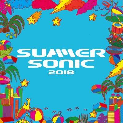 image for event Summer Sonic Music Festival at Maishima Sonic Park in Osaka, Japan on Aug 19, 2018