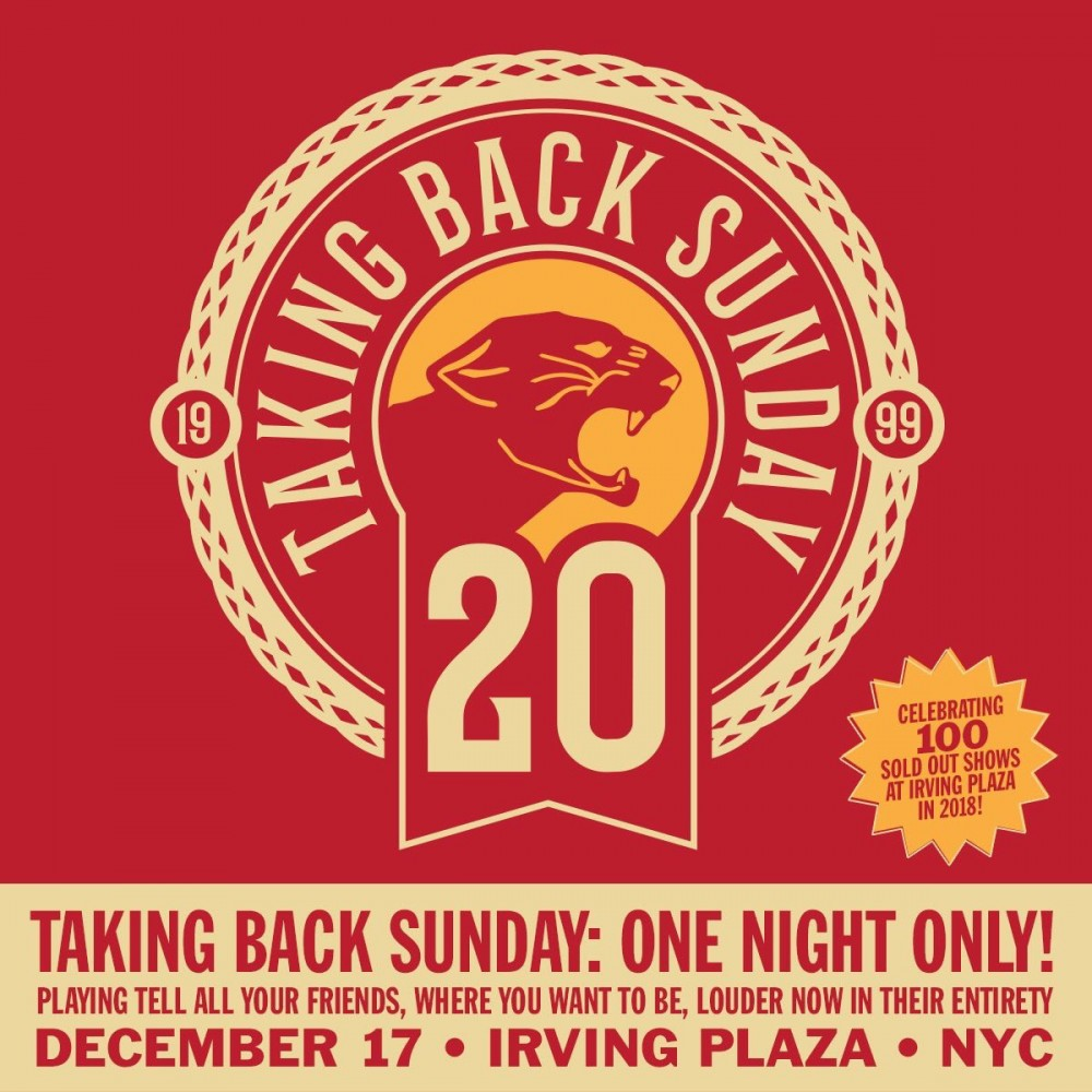 image for event Taking Back Sunday