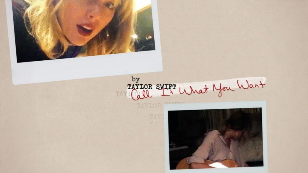 "image for article ""Call It What You Want"" - Taylor Swift [YouTube Lyric Video]"