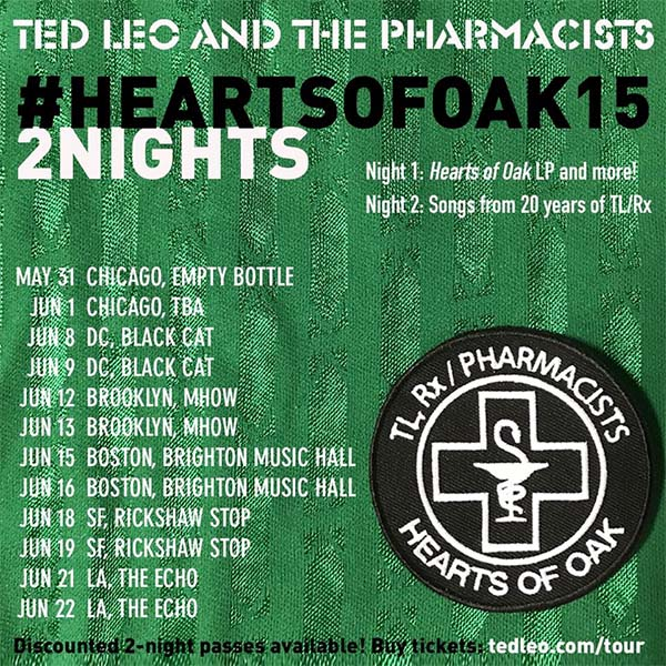 image for event Ted Leo & The Pharmacists