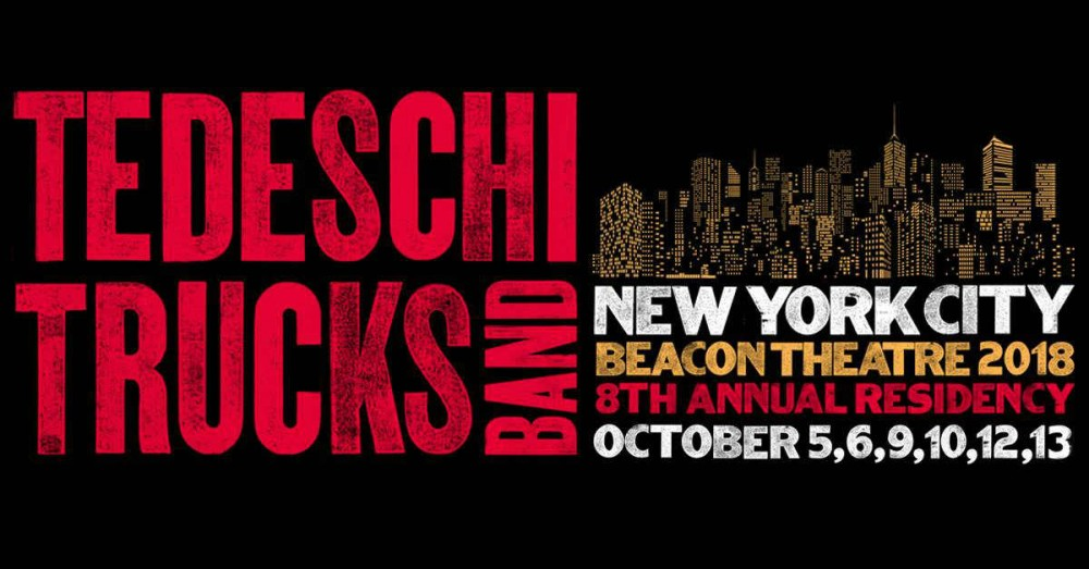 image for article Tedeschi Trucks Band Plans 2018 Beacon Theatre NYC Residency: Ticket Presale Code & On-Sale Info