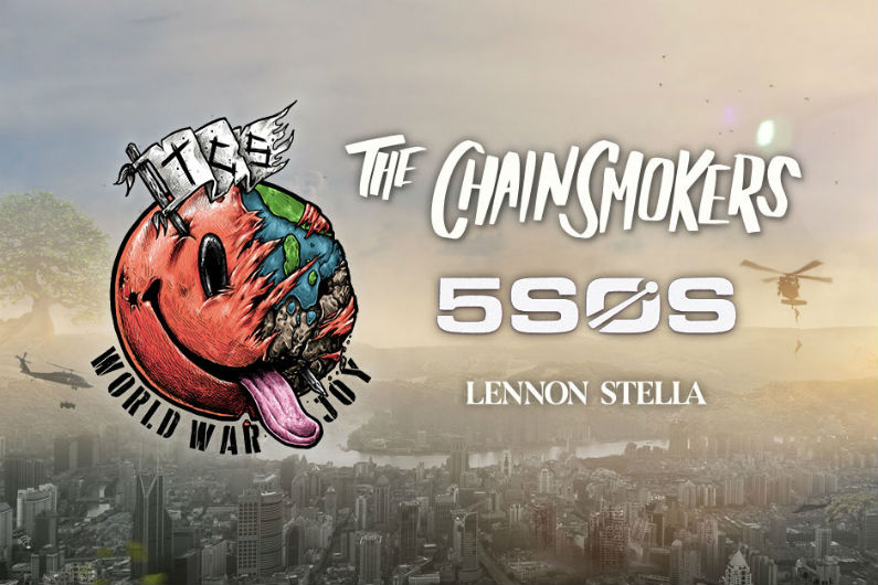 image for article The Chainsmokers & 5 Seconds of Summer Set 2019 Tour Dates: Ticket Presale Code & On-Sale Info