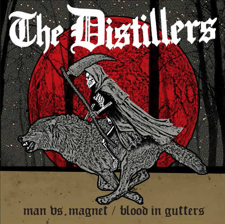 "image for article ""Man vs. Magnet"" & ""Blood in Gutters"" - The Distillers [Audio Singles]"