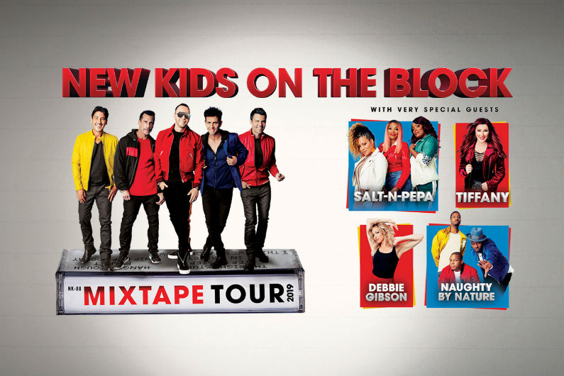image for event debbie gibson, Tiffany, Salt-N-Pepa, Naughty By Nature, and New Kids on the Block
