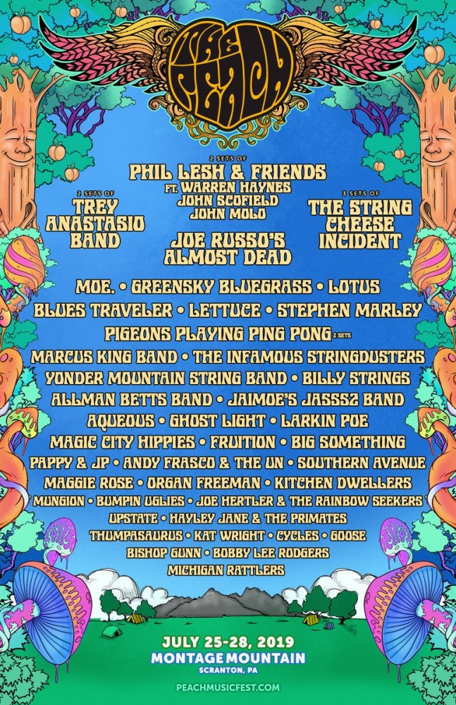 image for event The Peach Music Festival - 4 Day Pass