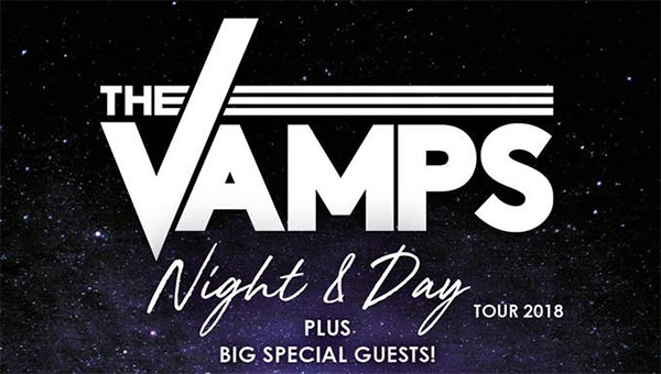 image for event The Vamps and New Hope Club
