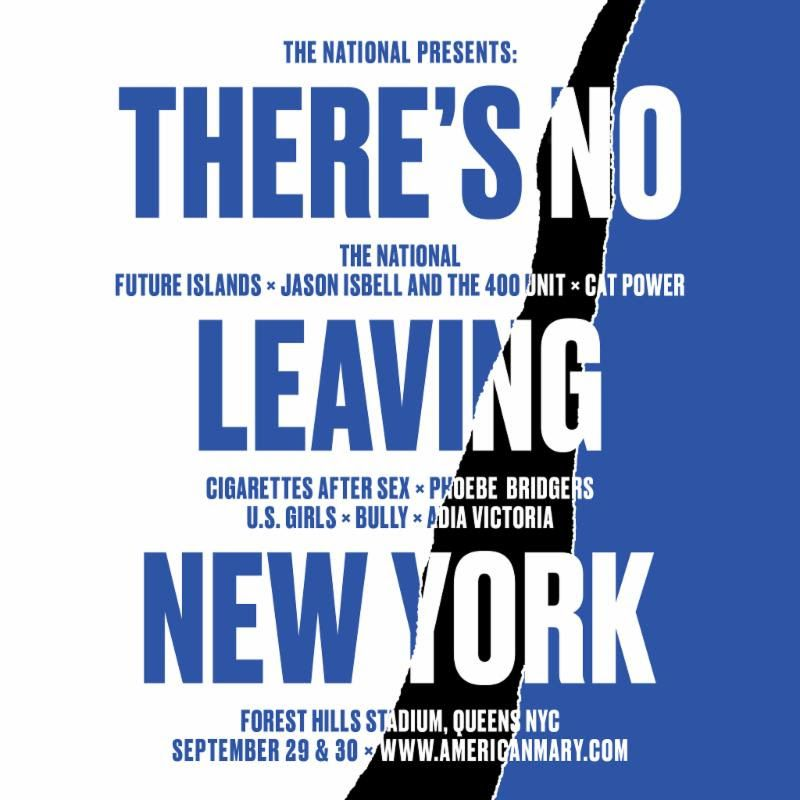 image for event There's No Leaving New York: The National, Future Islands,Cat Power, U.S. Girls, and Bully