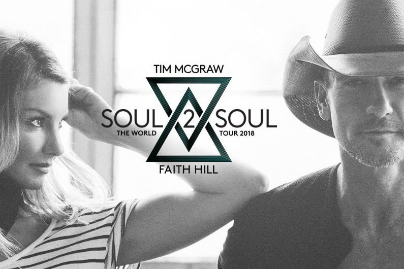 image for article Tim McGraw and Faith Hill Add 2018 'Soul2Soul' Tour Dates: Ticket Presale Code & On-Sale Info