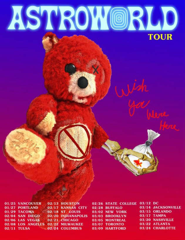 a88065883024 Travis Scott Adds 2018-2019 Tour Dates: Ticket Presale Code & On-Sale Info  | Zumic | Music News, Tour Dates, Ticket Presale Info, and More