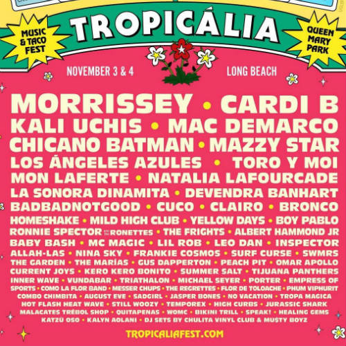 image for event Tropicalia Festival