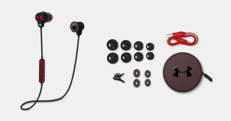 image for article Great Gifts for Music Lovers: Under Armour Wireless Headphones with Microphone