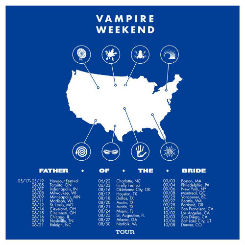 image for article Vampire Weekend Sets 2019 Tour Dates: Ticket Presale Code & On-Sale Info