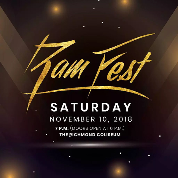 image for event VCU Homecoming Ram Fest 2018