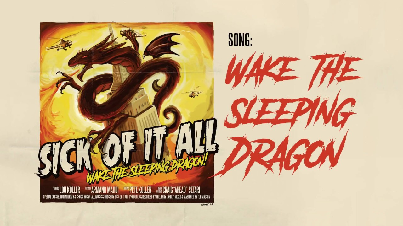 "image for article ""Wake The Sleeping Dragon"" - Sick Of It All [YouTube Audio Single]"