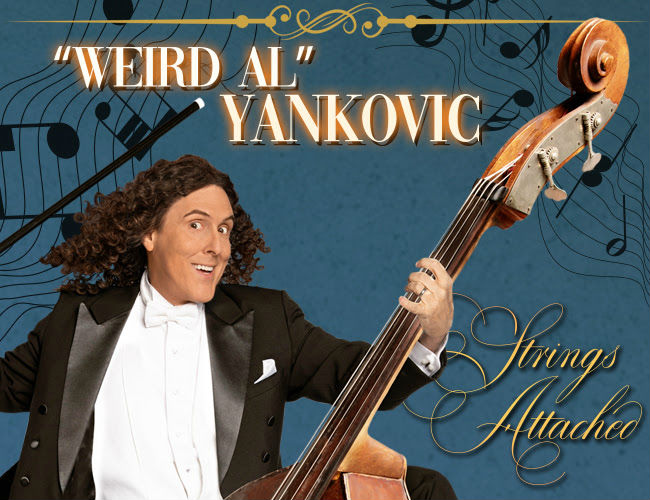image for article Weird Al Yankovic Plots 2019 Tour Dates: Ticket Presale Code & On-Sale Info