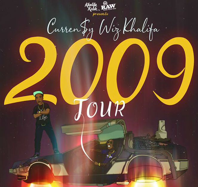 image for article Wiz Khalifa And Curren$y Plot 2019 Tour Dates: Ticket Presale Code & On-Sale Info