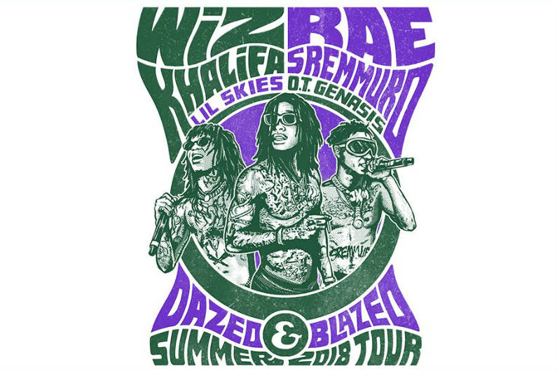 image for article Wiz Khalifa and Rae Sremmurd Plot 2018 Tour Dates: Ticket Presale Code & On-Sale Info