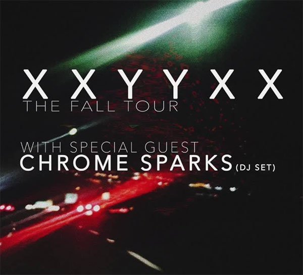 image for event XXYYXX and Chrome Sparks