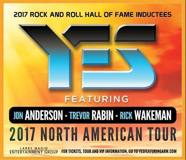 image for event Yes featuring Jon Anderson, Trevor Rabin, and Rick Wakeman